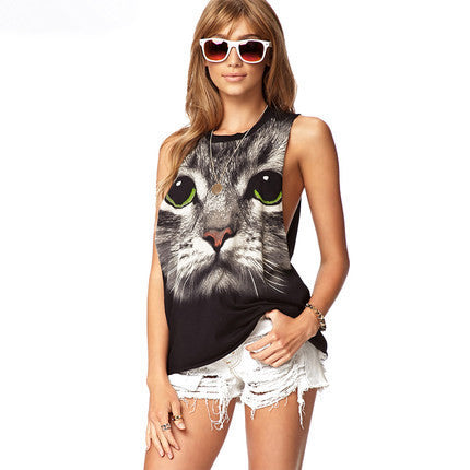 Brand New Awesome Kitty Tee, So Cool & Sexy! All Sizes