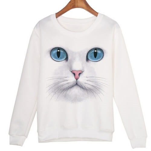 That Cute Cat Shirt, all sizes