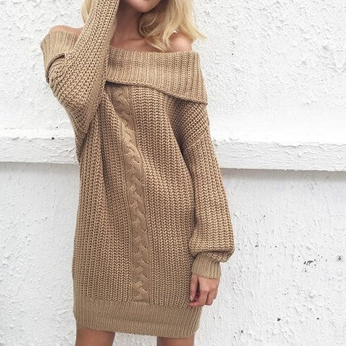 The Sweater Dress That Rocks, 2 Colors.