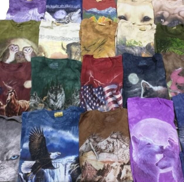 Animal Graphic Mystery Tee Shirt. All Sizes