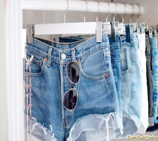Mystery Denim Shorts High Waisted:Sexy Jean Shorts : All Sizes