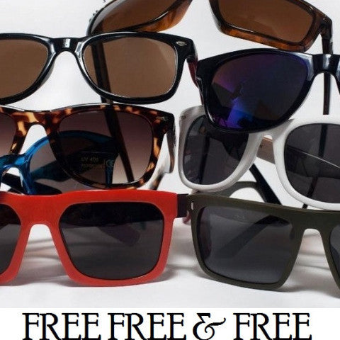 FREE - Promotional Sunglasses FREE, NO PURCHASE REQUIRED!!!