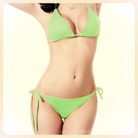 Electric Green, Get Your Bikini On! All Sizes