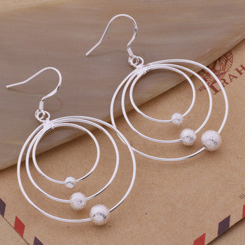 925 STERLING SILVER LOOPS EARRINGS