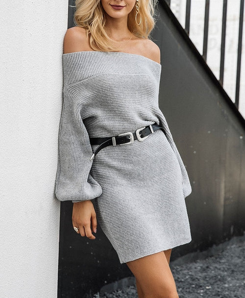 Fine Your Cool Sweater Dress!