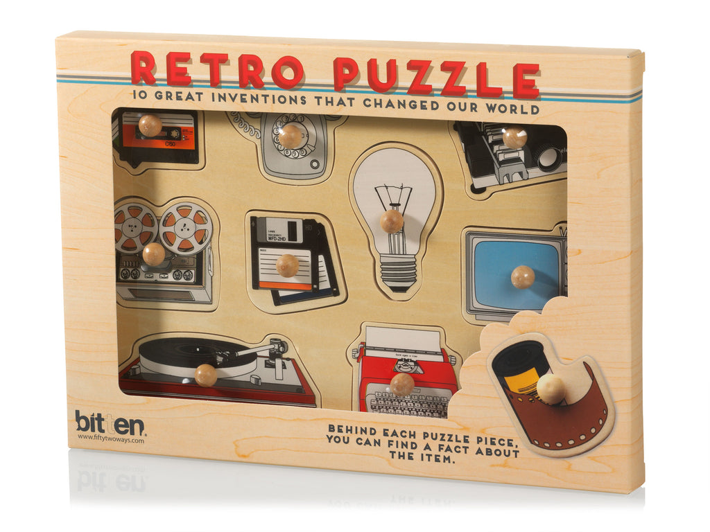 Retro Items Puzzle