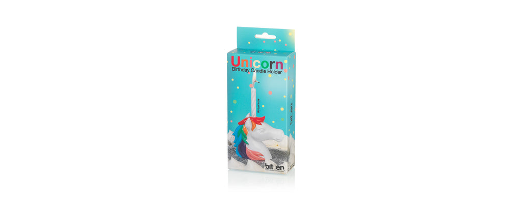 Unicorn Birthday Candle Holder
