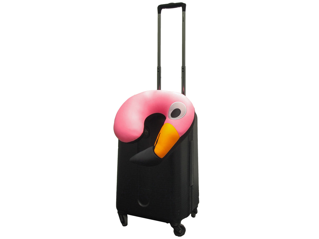 Flamingo Huggable Travel Pillow