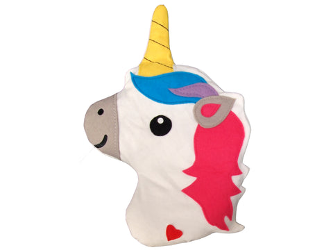 Huggable Unicorn Head