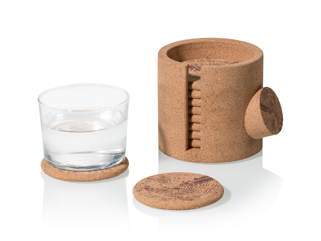 Log Coasters set of 10