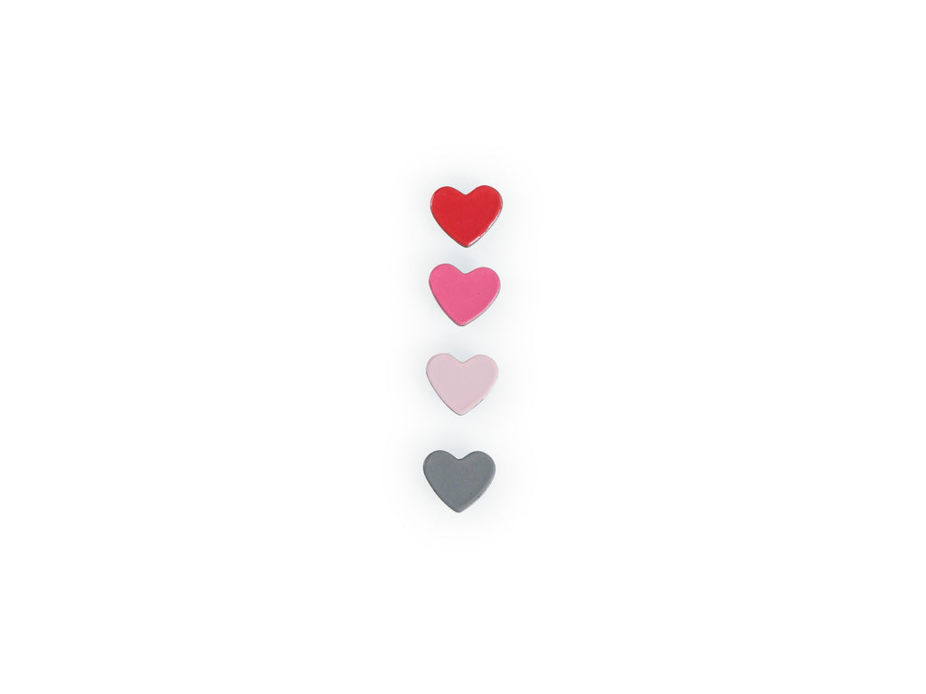 Sweetheart Confetti Magnets