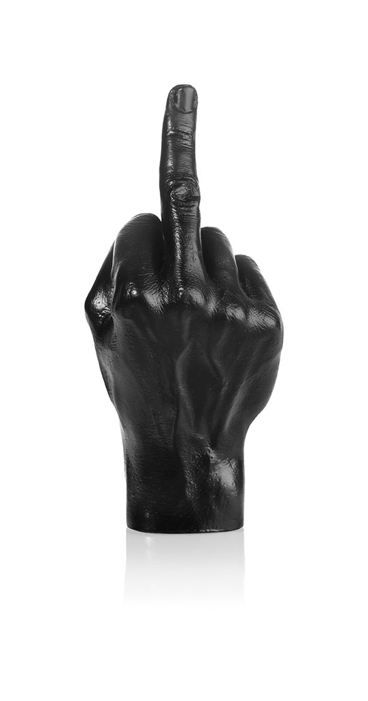 The Finger Sculpture Black