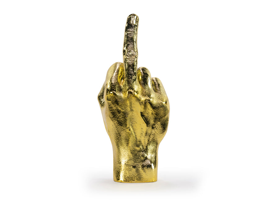 The Finger Sculpture Gold