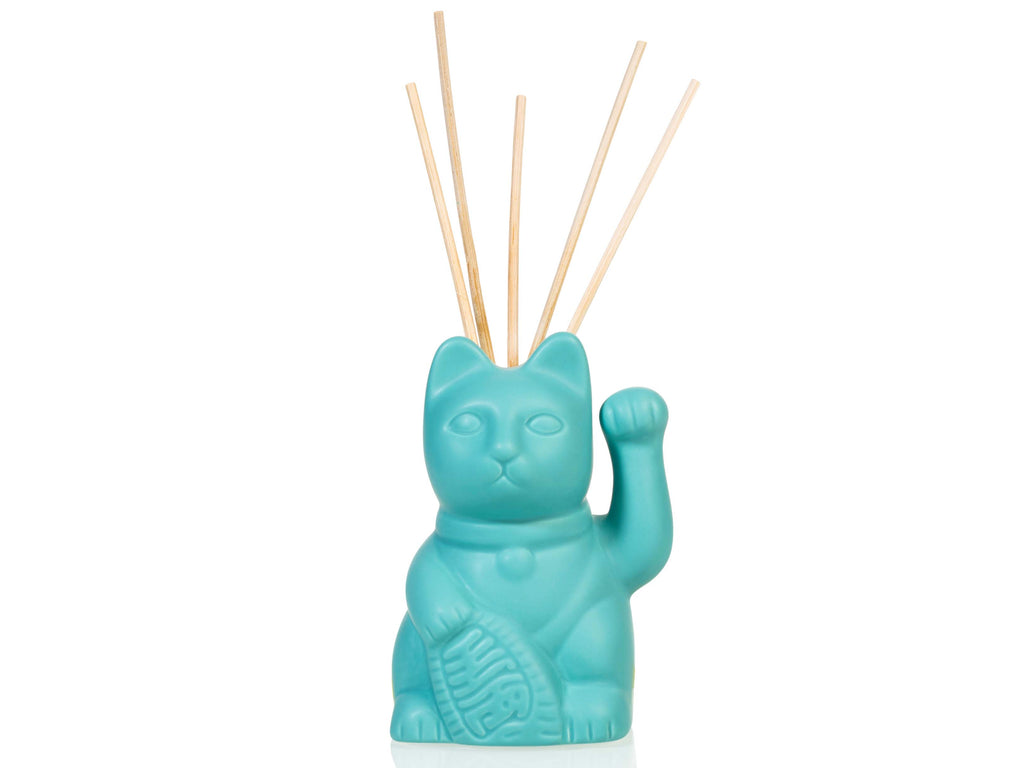 Lucky Cat Oil Diffuser Blue (including 40ml oil & 5 sticks)