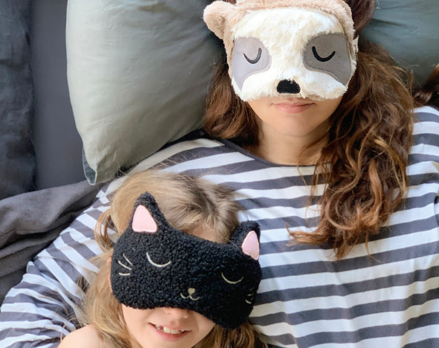 Huggable Lazy Sloth face Mask