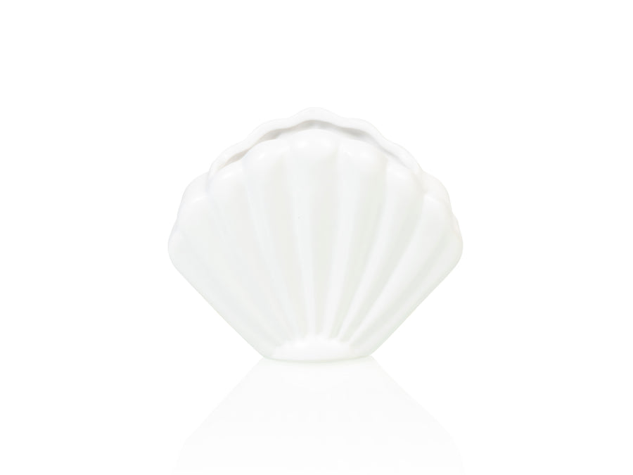 Atlantis Shell Planter Small White