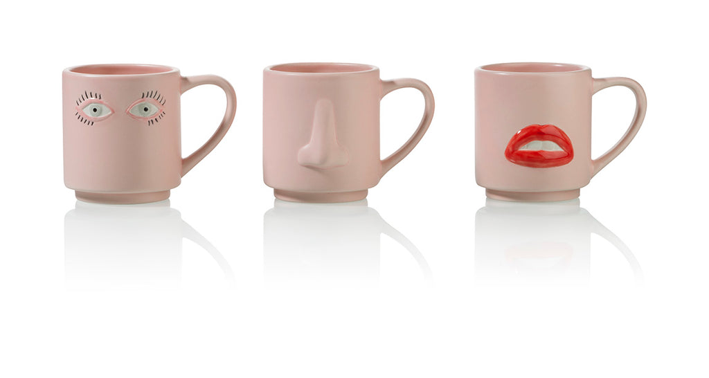 1933 Surreal Mug Set