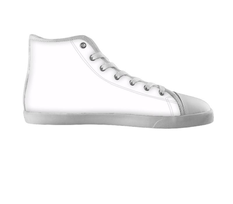 White custom shoes , hideme - spreadlife, SpreadShoes