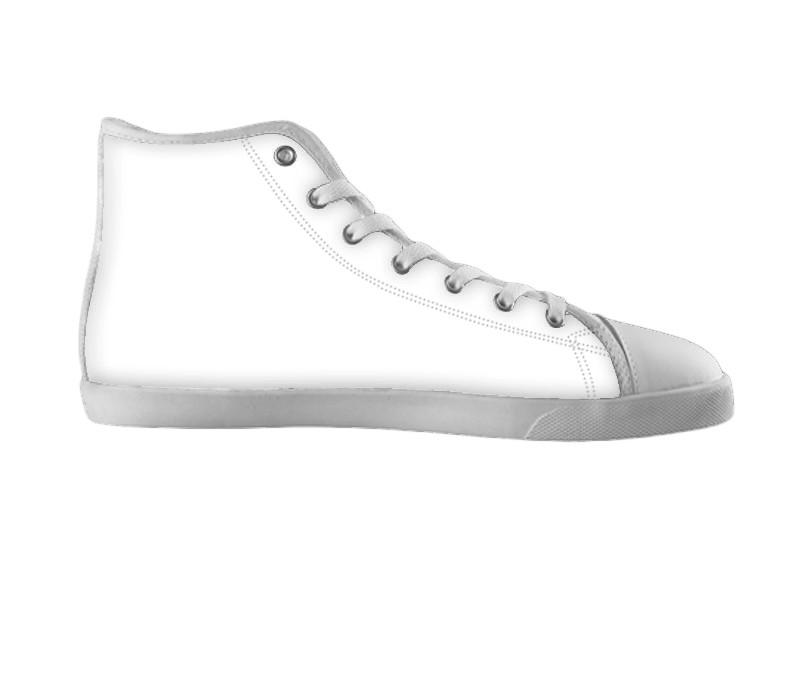 White custom shoes , hideme - spreadlife, SpreadShoes  - 2