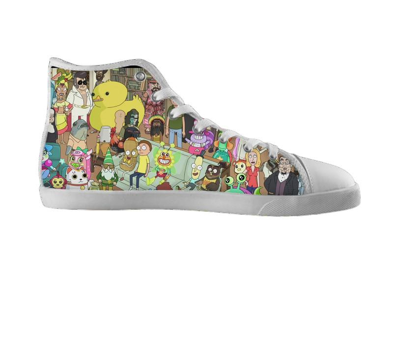 Rick Sanchez & Gang Collage Shoes , Shoes - Nifty-Shoes, SpreadShoes  - 2