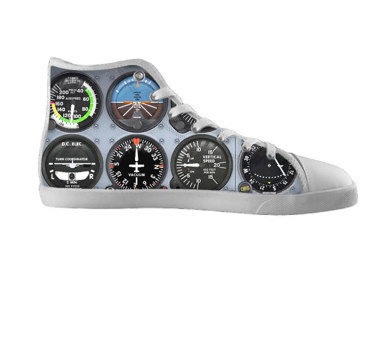 Airplane Gauge Shoes , Shoes - BayShoes, SpreadShoes  - 2