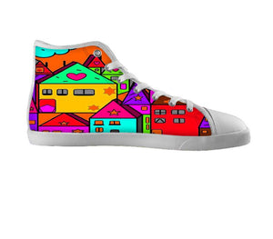 Home Popart by Nico Bielow , Shoes - Unique, SpreadShoes  - 2