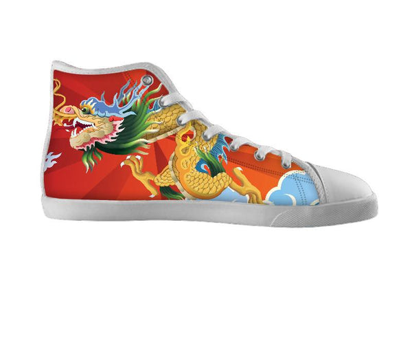 Chinese Style Dragon Shoe
