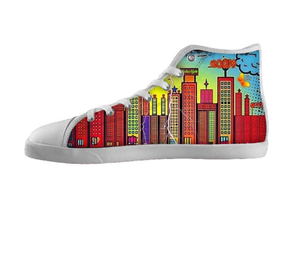 Popart City Shoes by Nico Bielow