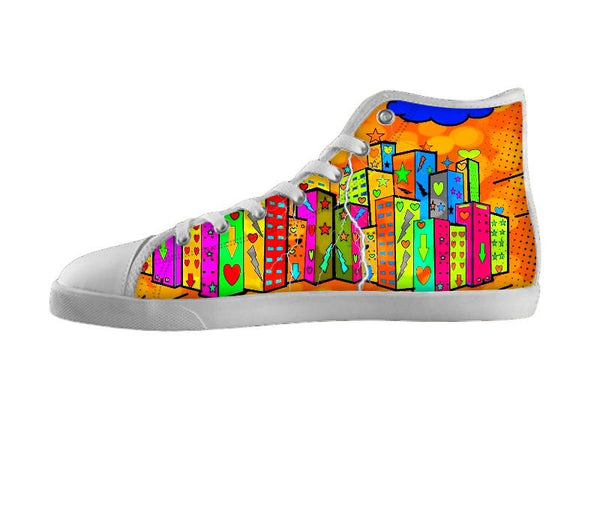 Popart Town Shoes by Nico Bielow