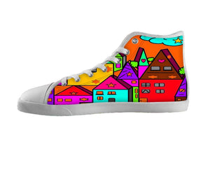 Home Popart by Nico Bielow , Shoes - Unique, SpreadShoes  - 1