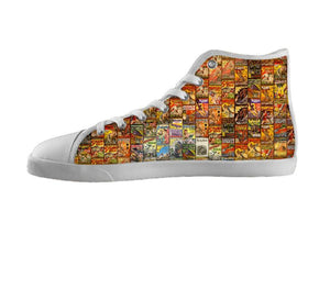 Classic Comics Tile Shoes , Shoes - BayShoes, SpreadShoes  - 1