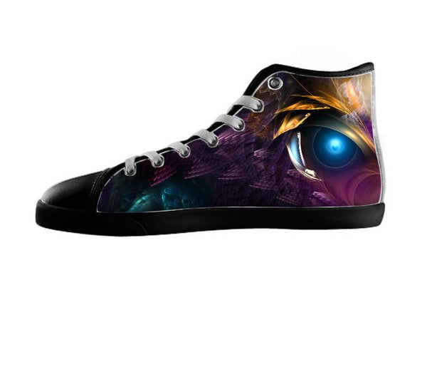 The Orkolon Alien Fractal Art Composition Shoes