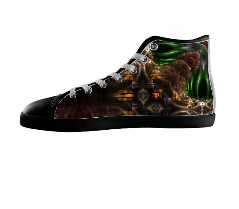 Cube Of Light Kaleidoscope Art Shoes , Shoes - xzendor7, SpreadShoes