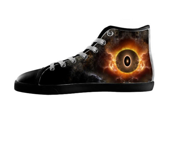 The Eye Of Chaos Fractal Art Composition Shoes