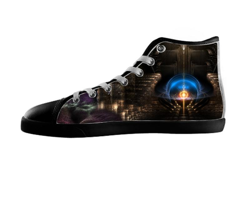 LAB 41 Sci-fi Fractal Art Composition Shoes , Shoes - xzendor7, SpreadShoes