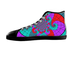 Abstract Design 1 Shoe , Shoes - JenniferOcious, SpreadShoes  - 1