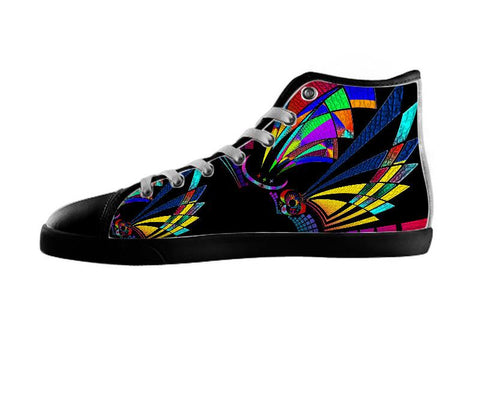 Dark Color Abstract Shoe