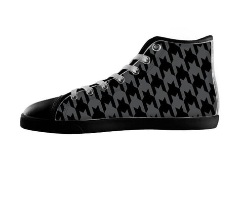 Dark Houndstooth Shoes