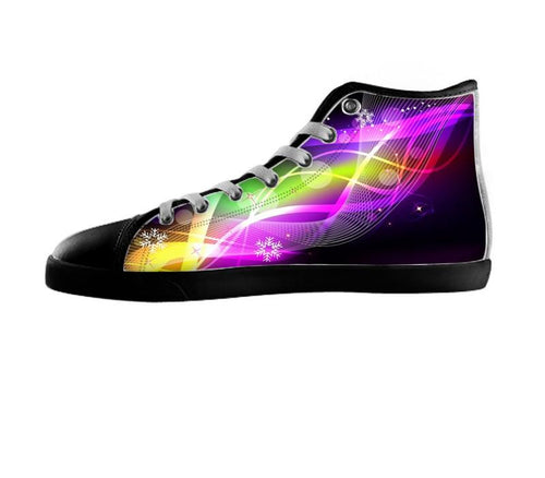 Abstract Art Music Shoes , Shoes - Atkinson'sKillerSHoes, SpreadShoes  - 1