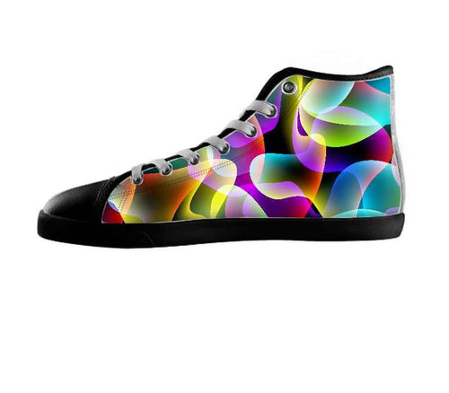 Neon swirls Shoes by Ancello , Shoes - Ancello, SpreadShoes