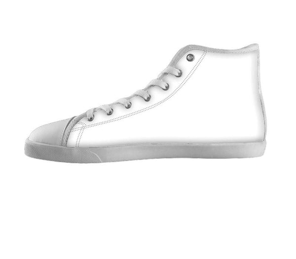 White custom shoes