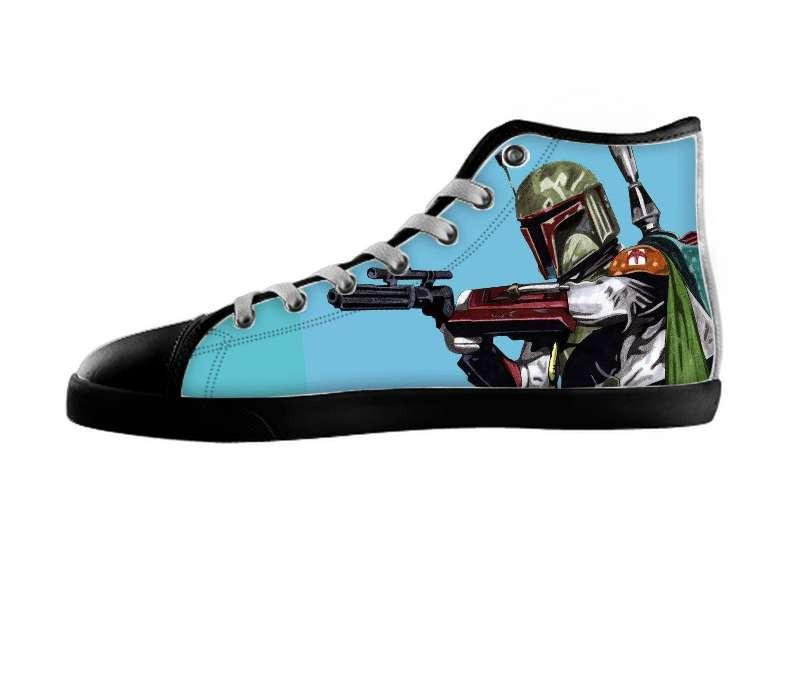 Boba Fett Shoes , Shoes - Fiendishart, SpreadShoes