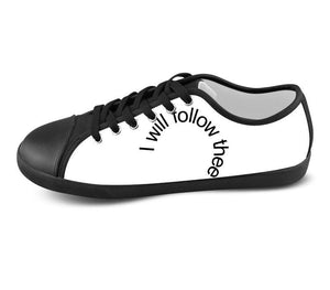 White Custom Low Top Shoes , hideme - spreadlife, SpreadShoes  - 1