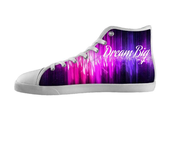 Dream Big Pink and Purple Shoes