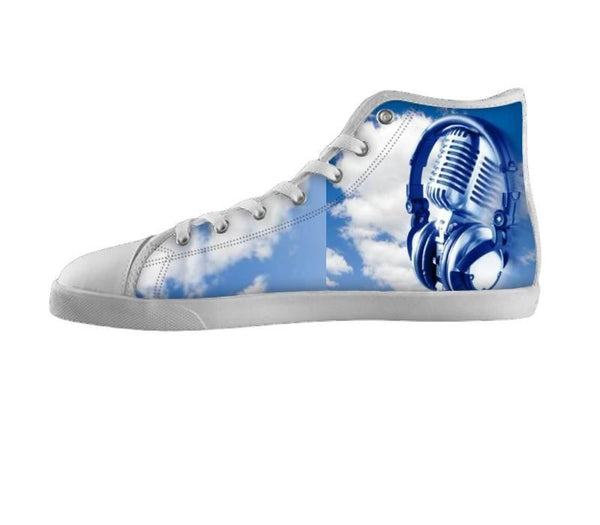 Dream Big Microphone Cloud Shoes