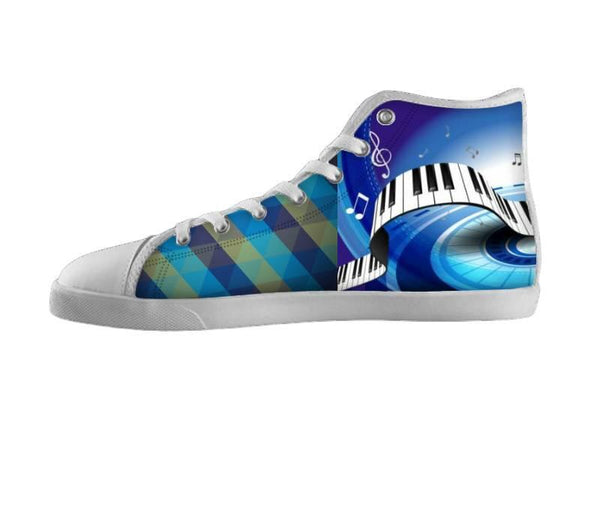 Dream Big Blue Piano Shoes