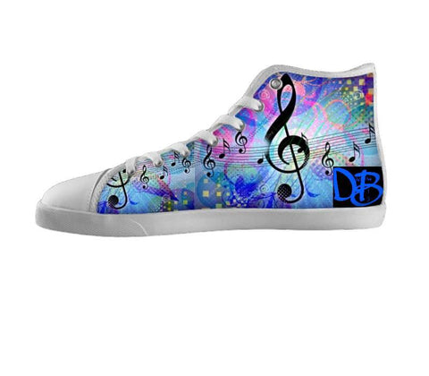 Dream Big Colorful Clef Note Shoes