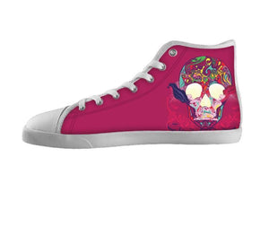 Pink Skull Shoes