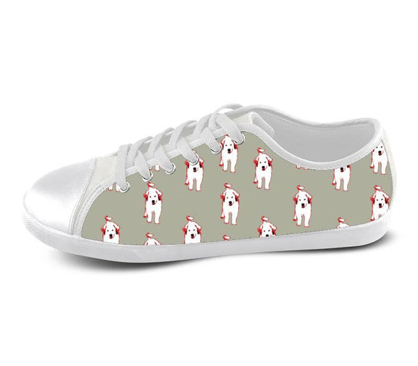 Great Pyrenees Puppy Low Shoes