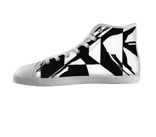 Black & White Angel Fish Shoes